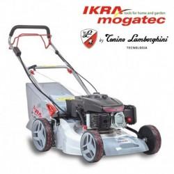 Бензиновая самоходная газонокосилка с электростартером IKRA IBRM 1448E TL