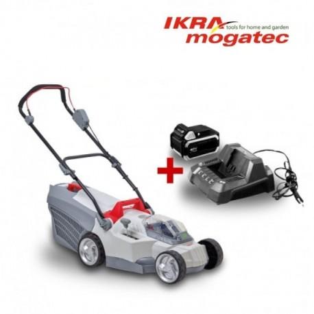 Аккумуляторная газонокосилка 40V 2.5Ah IKRA Mogatec IAM 40-3725 - ПОЛНЫЙ НАБОР